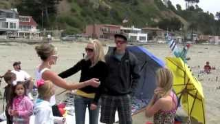 Will you marry me? Surprise beach proposal with sky words! The VERY BEST marriage proposal EVER!