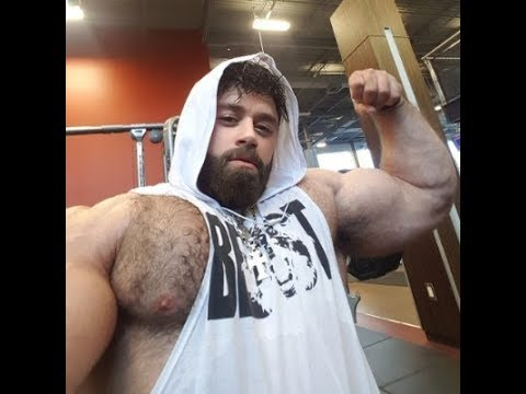 Hairy Flexing Muscle Daddy from YouTube · Duration:  1 minutes 21 seconds