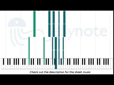 The Great Gig In The Sky Pink Floyd Piano Sheet Music Youtube