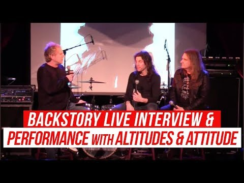 BackStory Presents: Altitudes & Attitude live from The Cutting Room NYC