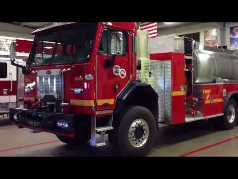 KME Commercial Chassis Custom Options | LACoFD Water Tender