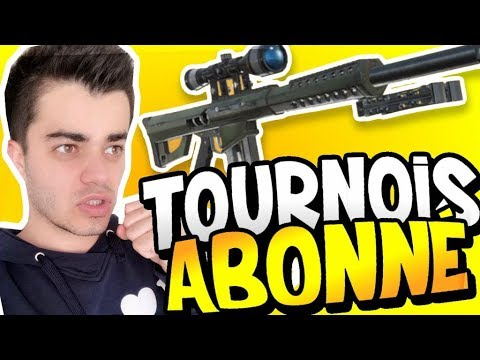 FORTNITE - TOURNOI ABONNÉ SUR SERVEUR PRIVÉ / 10€ PAR WINNER GAME !!