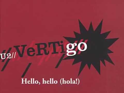 U2 Vertigo lyrics