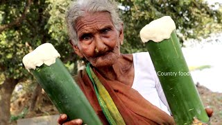 My Grandma Cooking BAMBOO CHICKEN BIRYANI | Country foods