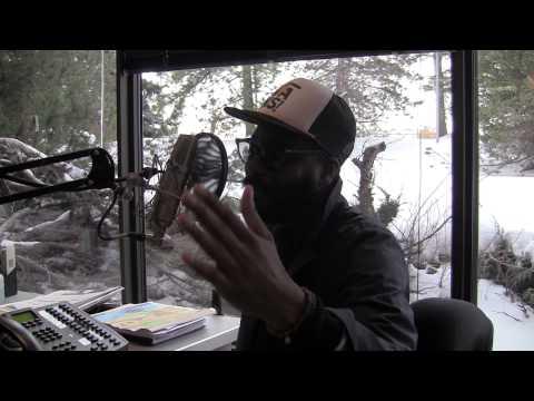 K-OS visits the Fresh FM Studio