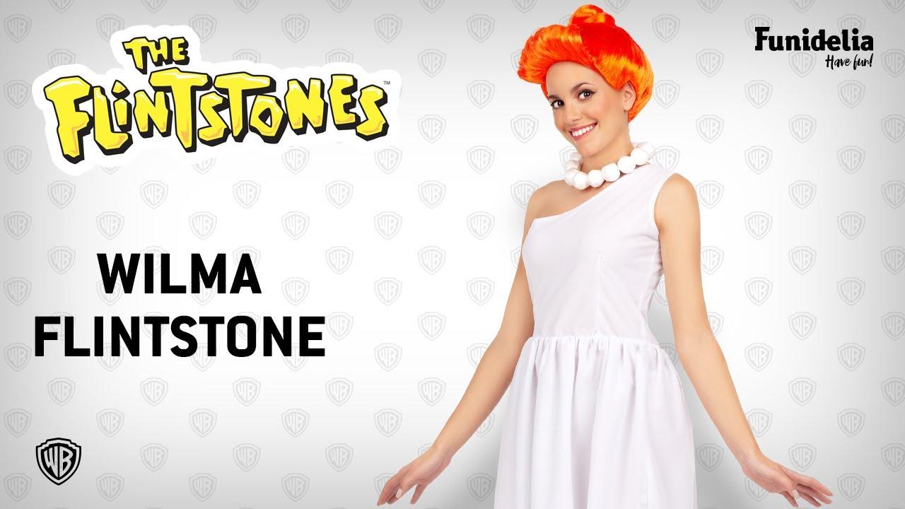 Funidelia wilma flintstone costume - the flintstones. costumefunidelia -  officially licensed warner bros