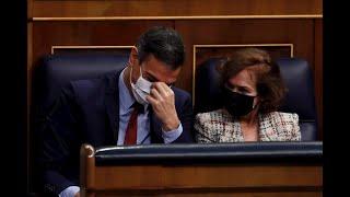 Sánchez se da las gracias a sí mismo en el Congreso: