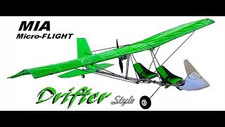 RC Ultralight Model Airplane- Drifter Style - Latest Kit Plane from MIA Micro-FLIGHT