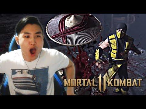 MORTAL KOMBAT 11 - Official Announce Trailer!! [REACTION]
