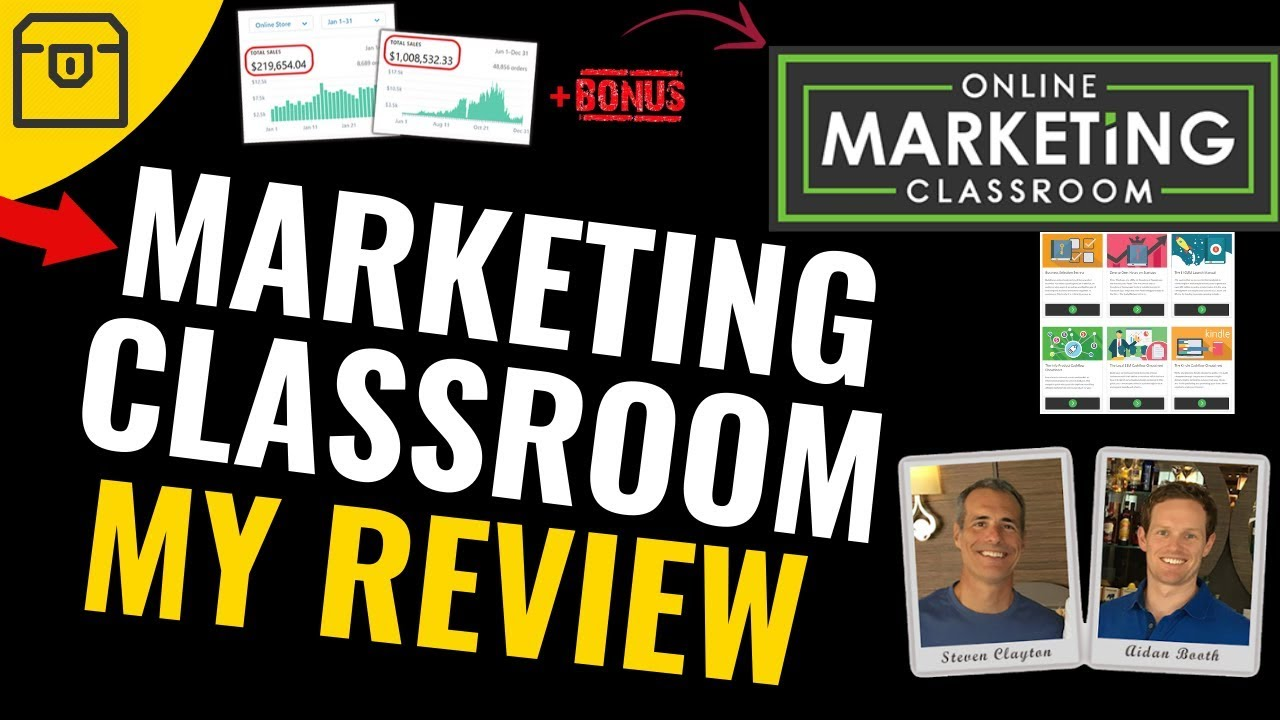 Online Marketing Classroom Discover Deals