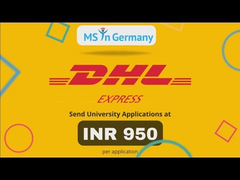 Book Your DHL Courier On MS In Germany At RS: 950 Only