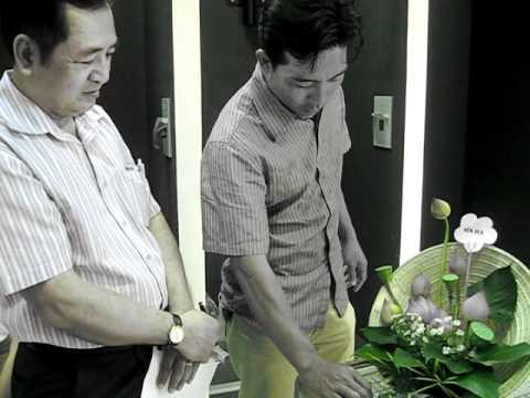 Thuyết trình cắm hoa - Mr.Ẩn part 3