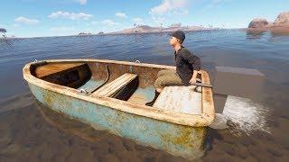 Rust - Лодка в игре! Супер!