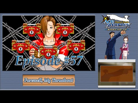 Phoenix Wright: Justice For All - Engarde's Secret, Detention Psyche Locks - Episode 57