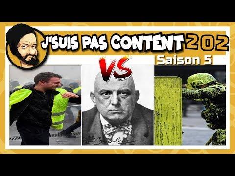 J'SUIS PAS CONTENT ! #202 : En Marche VS GJ : Florilège d'incompétence !