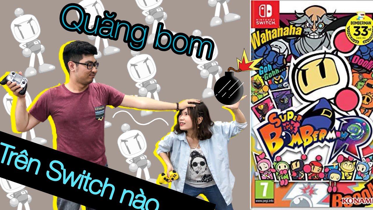 Chơi đặt bom trên Nintendo Switch với nShop  - Super Bomberman R