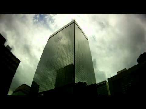Downtown Denver Cloud Reflection Time Lapse