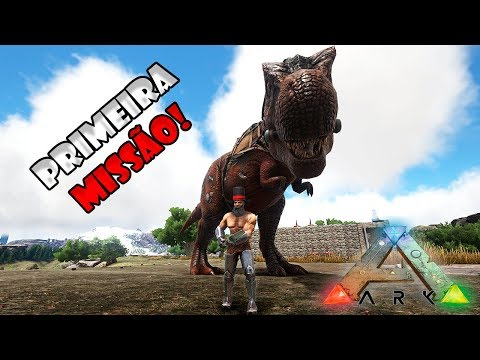 A PRIMEIRA MISSÃO DO REX!! --- ARK: SURVIVAL EVOLVED: VANILL