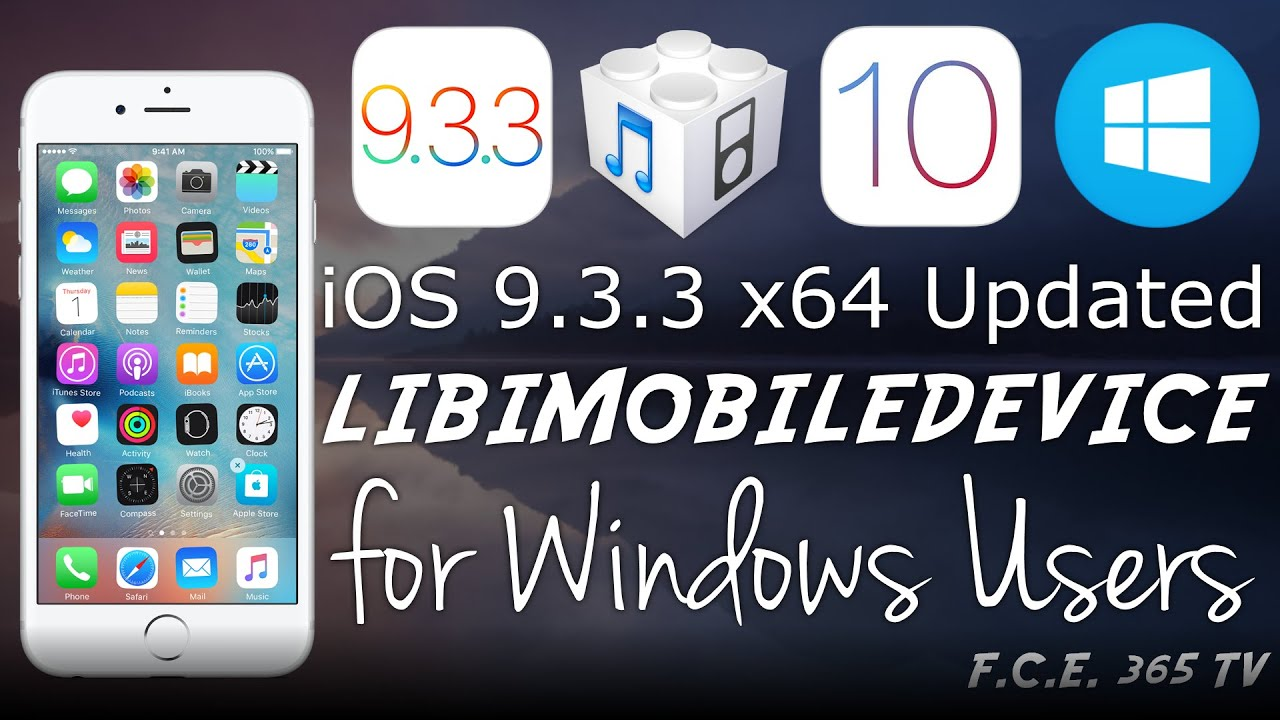 iOS 10 - Updated LibiMobileDevice Tool for Windows | New Firmware Manager  Update