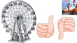 Zoyo колесо обозрения 3d metal model.  Металлический конструктор колесо обозрения