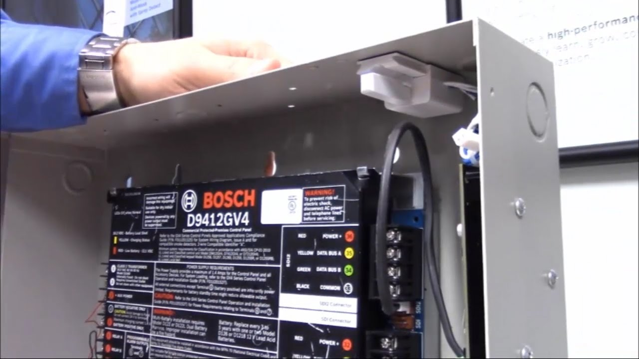 Bosch Security Bosch Icp Ezts Dual Tamper Switch Installation
