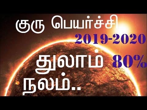 Guru Peyarchi 2019-2020 Thulam Rasi குரு பெயர்ச்சி