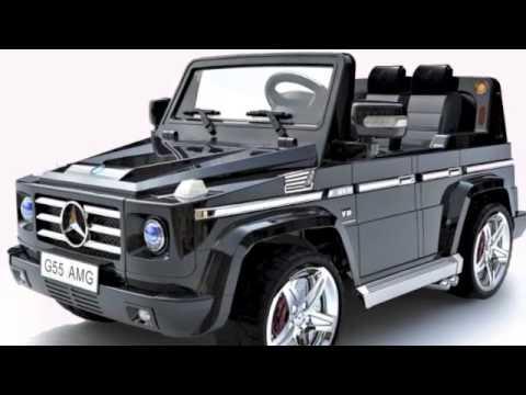 kids licensed mercedes g55 amg 12v jeep - youtube