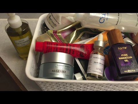 Some of my favorite skin care products