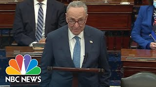 Schumer Gives First Spęech As Senate Majority Leader: 'I Am Full Of Hope' | NBC News