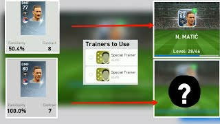 Familiarity Has Any Role In Players Training.?Factors Deppends on Training is #pes#trainers#