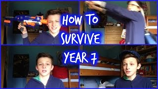 Secondary School Tips/ How To Survive Year 7 | Bish Bash Josh Thumbnail