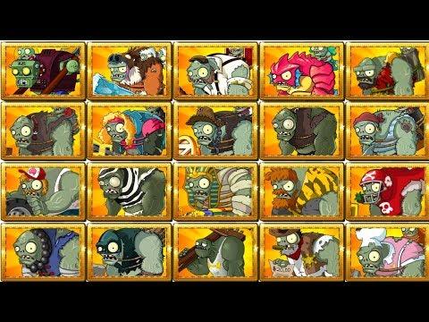 Plants vs Zombies 2 Gameplay All Gargantuars Walkthrough vs Plants Power Up - Plantas vs Zombistein