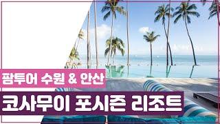 [팜투어] 코사무이 초호화 럭셔리 리조트, 포시즌 리조…