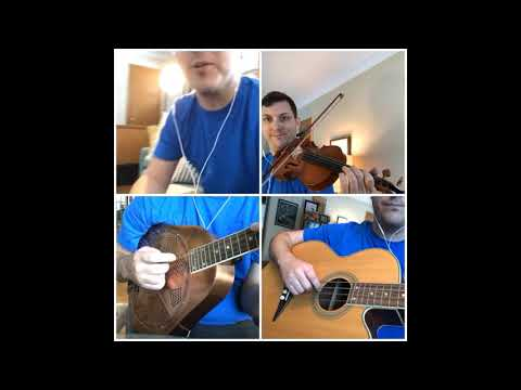 (2388) Zachary Scot Johnson Angus Campbell Cover thesongadayproject Fiddle Mandolin Song Tune Reel