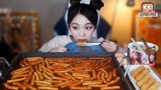 [ENG] 신전떡볶이 먹방❤!!! 슈기♬ Shugi Mukbang eating show