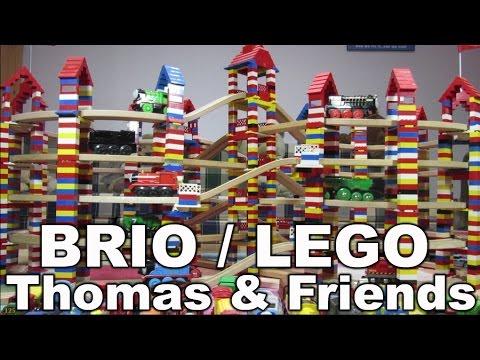 lego brio eisenbahn thomas and friends wooden railway kanal f r kinder kinderkanal youtube. Black Bedroom Furniture Sets. Home Design Ideas