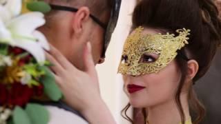 видео Свадьба в венецианском стиле