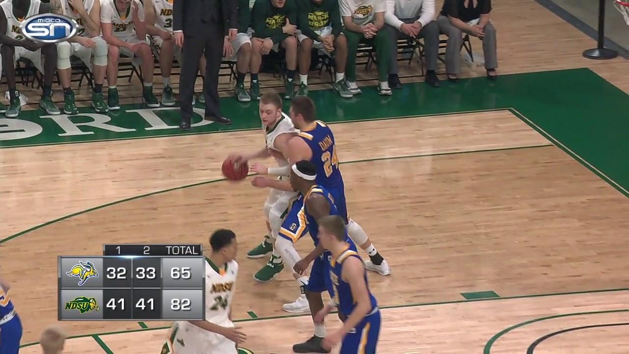 Game Recap: SDSU at NDSU men's college basketball 2.8.17 ...