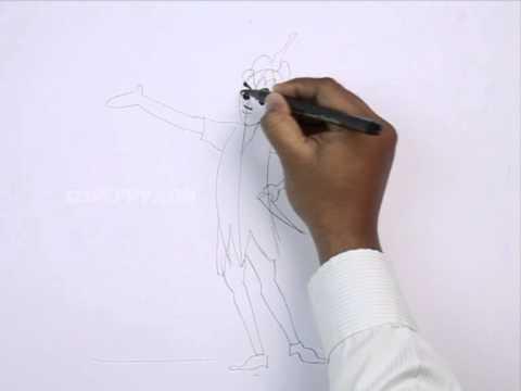 Pan Drawing How to Draw Peter Pan