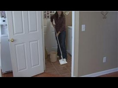 housekeeping instructions how to remove wax from floor tiles