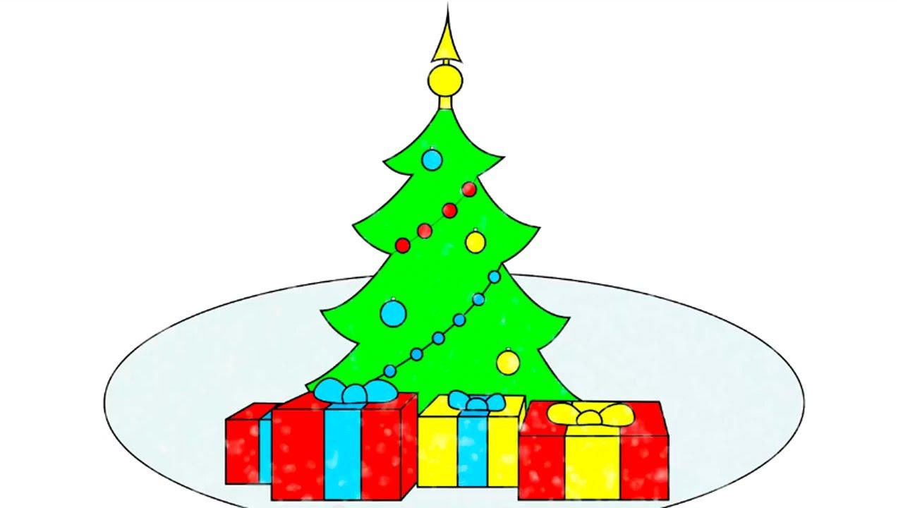 Раскраска из мультфильма. Новый Год, Снеговик и Дед Мороз ...