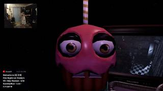 [2] [VR] Five Nights at Freddy's VR: Help Wanted - FNAF 2, BRO SCARED - with ScaredyBlue - 7/7/2019