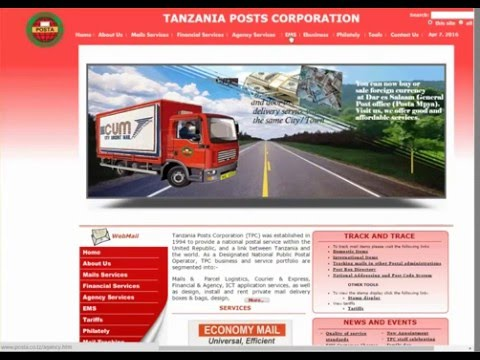 Tanzania Post Tracking Guide