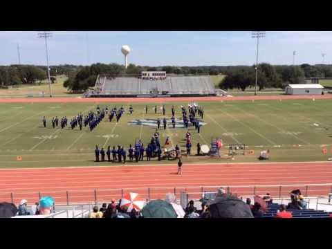 Goliad High School Band Marching Contest 2nd Half