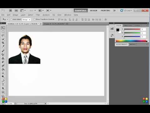 How To Create 2x2 And 1x1 Id Picture Using Photoshop Detailed Made