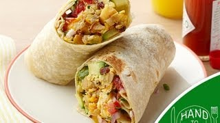 Breakfast Burrito - Hand to Mouth