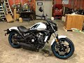 2021 Kawasaki Vulcan S 650 Unboxing & Complete Build   Crate To Showroom Floor. Pearl Blizzard White