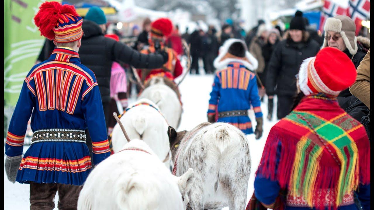 Jokkmokk Winter Market In Lapland Sweden Jokkmokk Marknad - Jokkmokk sweden map