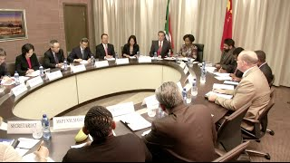 China, South Africa to Strengthen Strategic Comprehensive Partnership