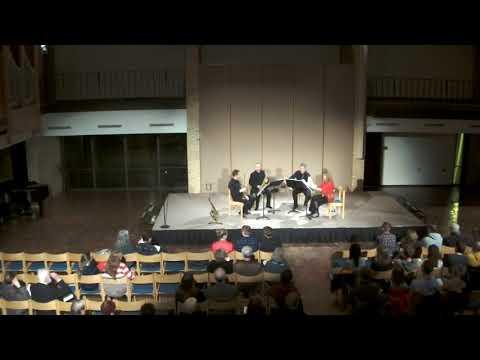 Transcontinental Sax Quartet at concordia College, Moorhead, MN